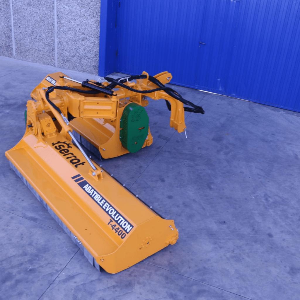 Trituradora Abatible Evolution Serrat