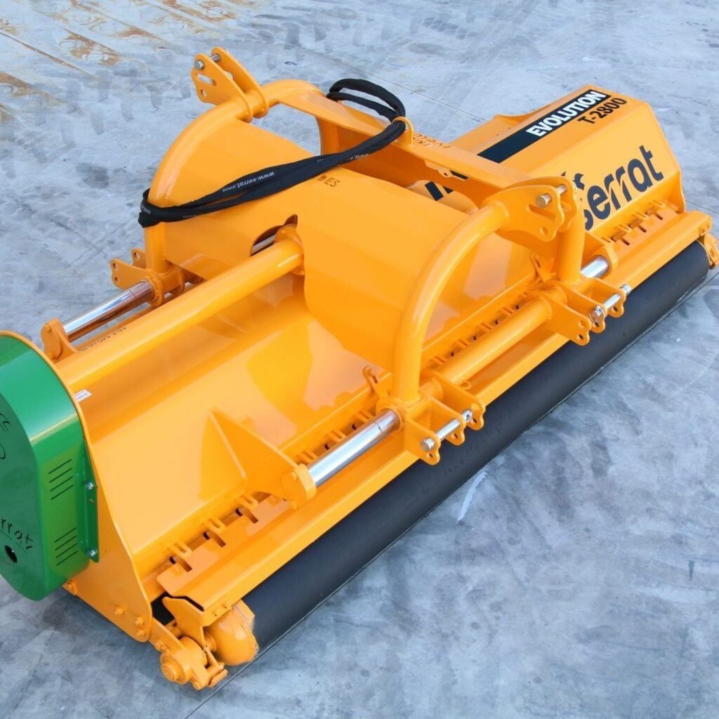 Trituradora Evolution Reversible Desplazable Serrat